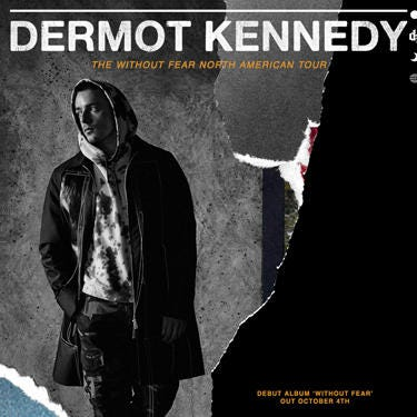 Dermot Kennedy: 'Without Fear Tour'