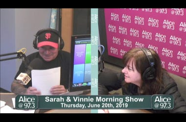 Sarah and Vinnie