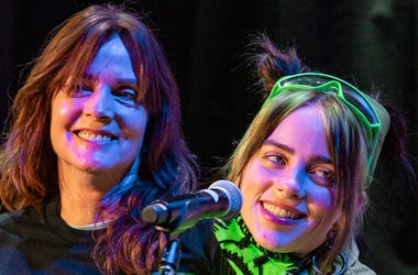 Billie Eilish with mom Maggie Baird; Sept. 20, 2019