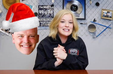 Audrey Talks KLUC's Toy Drive
