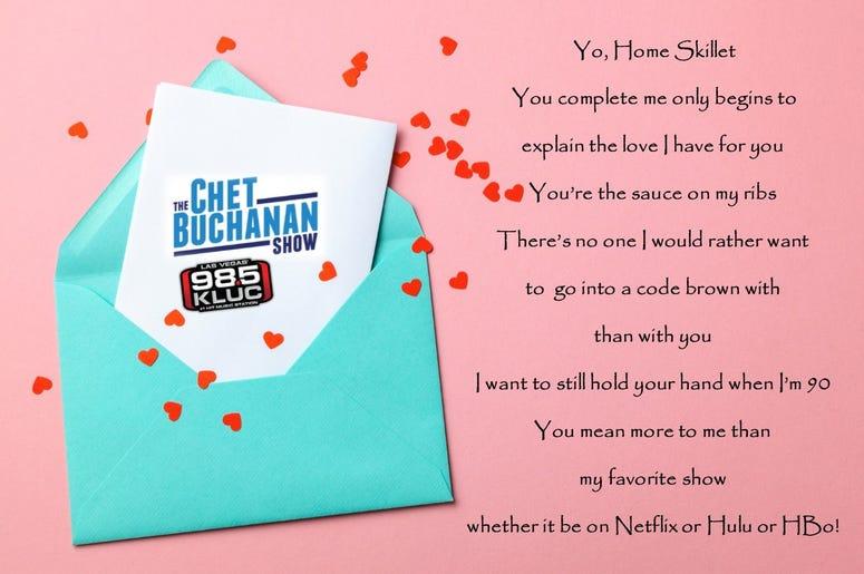 The Chet Buchanan Show Love Letter