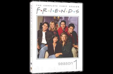 Friends on dvd