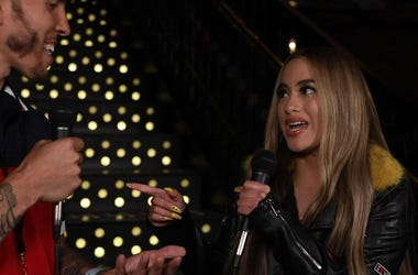 Ally Brooke with A.D.