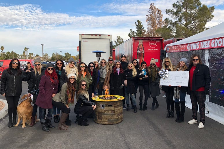 X Burlesque, X Country and X Rocks Visit Toy Drive