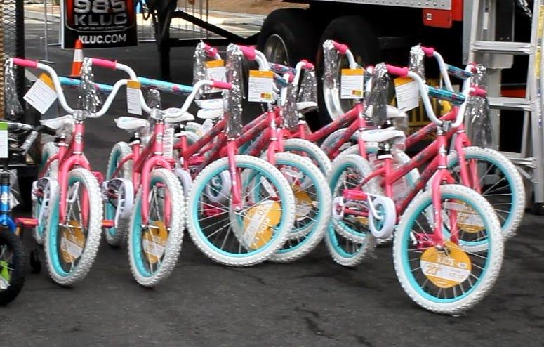 Toy Drive 2018 Sea of Bikes