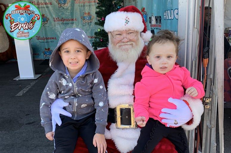 Toy Drive Santa