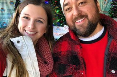 Chumlee at KLUC Toy Drive