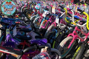 Toy Drive 2019 Sea Of Bikes