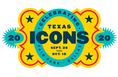 2020's State Fair of Texas theme logo represents Texas Icons