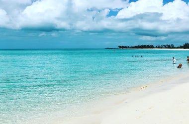 Disney's private island Castaway Cay in the Bahamas
