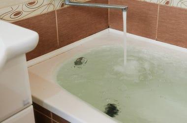 Bath, Water, Tub, Full, Overflow