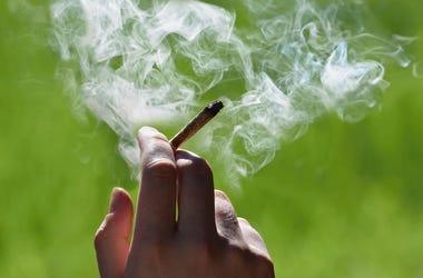 Marijuana, Joint, Hand, Smoking, Smoke