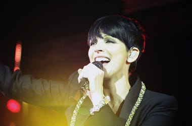 Singer Nena performs on stage during the UNESCO Charity-Gala 2010 at Maritim Hotel on October 30, 2010 in Duesseldorf, Germany.