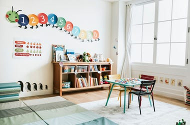 Day Care, Room, Interior, Kindergarten, School
