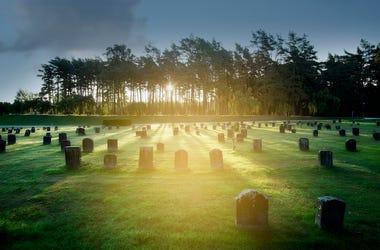 Graveyard, Tombstones, Cemetery, Headstones