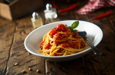 Spaghetti, Dinner, Meal, Food, Pasta, Restaurant