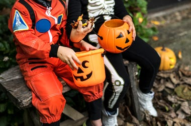 Halloween, Candy, Trick-or-Treating, Costumes, Neighborhoods, Brothers