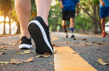 Running Trail, People, Shoes, Running, Walking, Feet