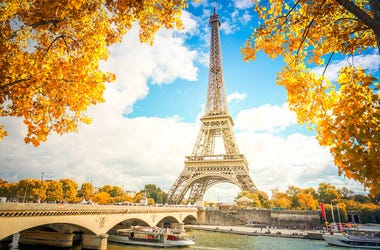 Paris, Fall, Autumn, Eiffel Tower, Pont dIena