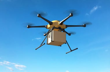 Package, Drone, Delivery, Delivery Drone