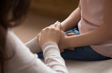 Parent, Child, Mother, Daughter, Hands