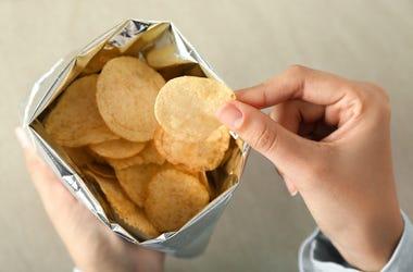 Potato Chips, Bag, Finfers