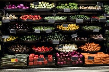 Grocery Store, Produce, Vegetables, Farmer's Market