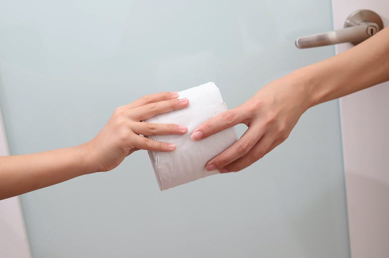 Toilet Paper, Give, Share, Bathroom
