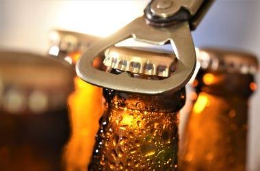 Beer, Bottle, Bottle Opener