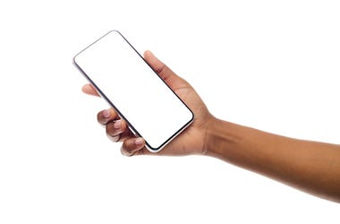 Cell Phone, Smart Phone, Empty Screen