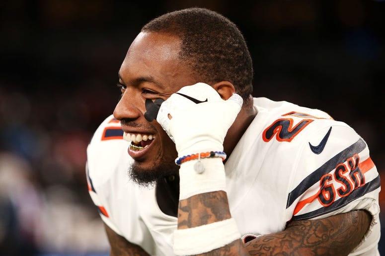 Ha Ha Clinton-Dix #21 of the Chicago Bears looks on following the NFL match between the Chicago Bears and Oakland Raiders at Tottenham Hotspur Stadium on October 06, 2019 in London, England.