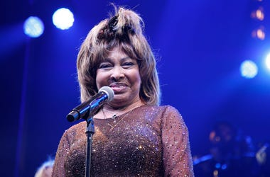 "Tina Turner speaks during the ""Tina - The Tina Turner Musical"" opening night at Lunt-Fontanne Theatre on November 07, 2019 in New York City."