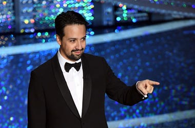 Lin-Manuel Miranda speaks onstage during the 92nd Annual Academy Awards at Dolby Theatre on February 09, 2020 in Hollywood, California.
