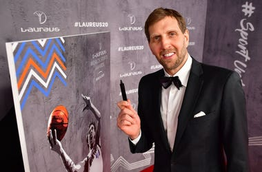 Dirk Nowitzki during the 2020 Laureus World Sports Awards at Verti Music Hall on February 17, 2020 in Berlin, Germany.