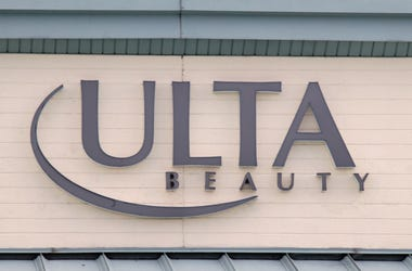 sign for Ulta Beauty as photographed on March 16, 2020 in Levittown, New York.