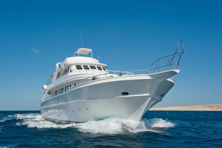 Yacht, Luxury, Ocean, Boat, Sea, Water, Blue Sky