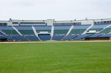 Baseball Stadium, Seats, Bleachers, Empty