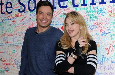 Jimmy Fallon and Madonna