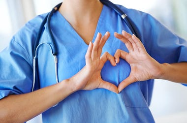 Nurse, Heart, Heart Hands