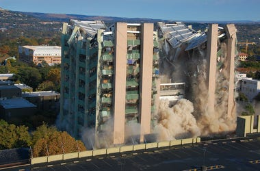 Building, Implosion, Collapse