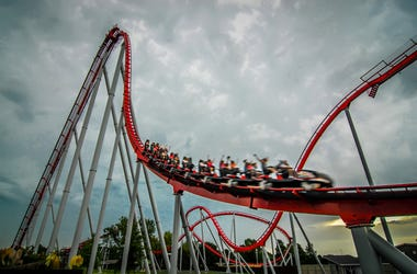 roller coaster amusement park ride