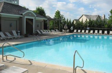 Swimming Pool, Neighborhood, Pool Chairs