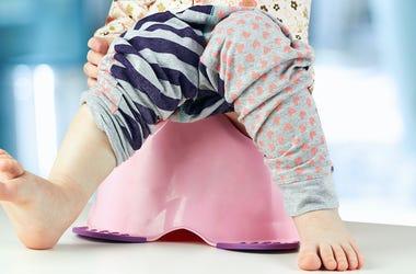 Potty Training, Legs, Child, Chamber Pot