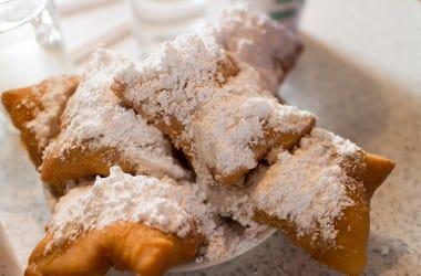 French Beignet, Powdered Sugar