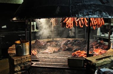 Texas Style, Barbecue Pit
