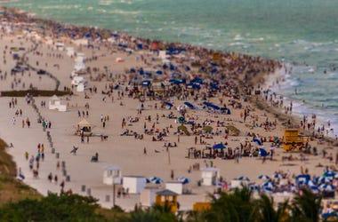 Beach, Spring Break, Party, Miami