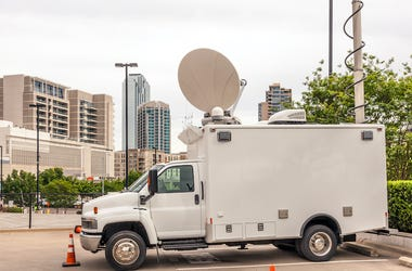 Broadcast Vehicle, News Van