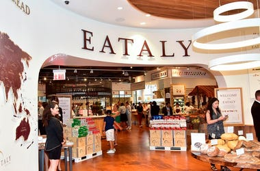 NEW YORK, NY - AUGUST 02: Atmosphere at the Eataly Downtown NY Ribbon Cutting on August 2, 2016 in New York City.