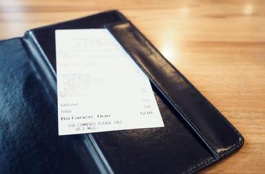 Restaurant, Check, Bill, Table