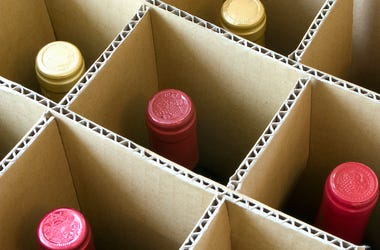 Wine, Box, Delivery, Package
